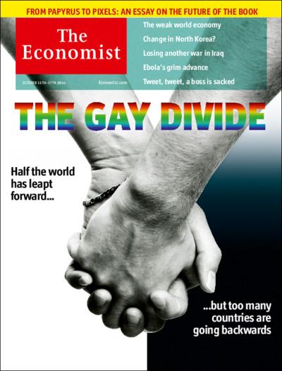 """Capa da revista inglesa """"The Economist"""" (Divulgação)"""