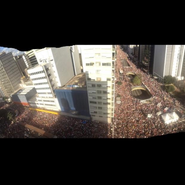 19º Parada do Orgulho LGBT de São Paulo ( Reprodução/Facebook - foto de Celso Reeks)