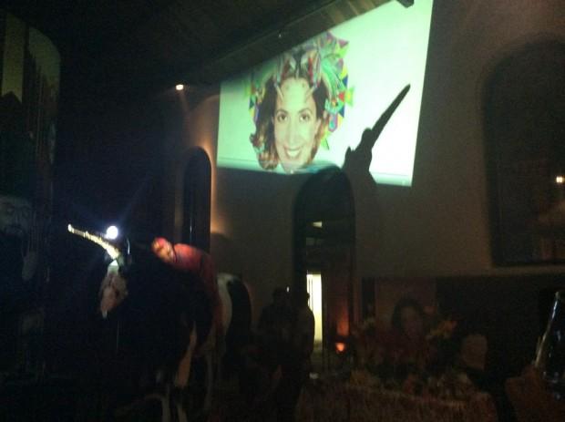 Suzy Capó homenageada na Cinemateca Brasileira, em janeiro de 2015 (Reprodução/Facebook)